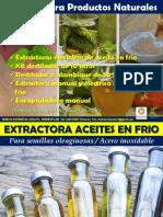 Promocion Destiladores y Extractores de Aceites Alcohol y Vino Encapsuladora Mayo 2020