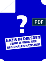 """Who is who?"" - Einblicke in die Dresdner Naziszene"