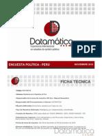 Encuesta Política - Perú