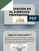 Presentación INNOVACION PROFESIONAL  CORRECTA