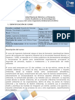 Syllabus del curso Ingeniería Ambiental