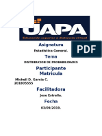 Tarea 8) Estadistica General,