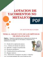 yacimientos no metalicos