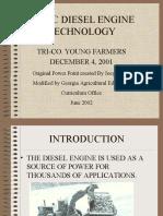 Basic Disel Engine Technology