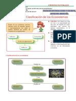 Organización y Clasificación de los Ecosistemas
