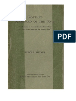 Goethe's Standard of the Soul - Rudolf Steiner