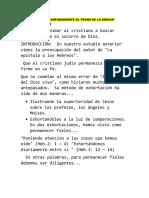ACERQUÉMONOS CONFIADAMENTE AL TRONO DE LA GRACIA