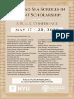 Dead Sea Scrolls in recent scholarship