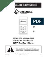 OTDR Greenlee - Manual