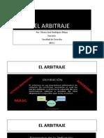 PRESENTACIÓN PROFESOR EL ARBITRAJE .pptx