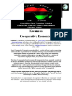 AFRICAN PEOPLE of LOVE Kwanzaa Co-operative Economics