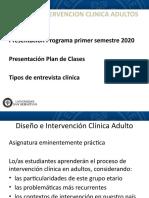 POWER POINT PRIMERA CLASE 2020