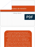 El proceso de revision-dictaminacion