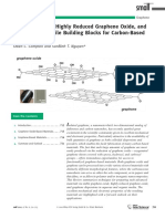 Graphene Oxide, Highly Reduced Graphene Oxide, and Graphene - Versatile Building Blocks for Carbon‐Based Materials†
