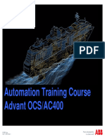 Sea Princess Advant OCS-AC400 Training