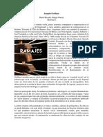 Joaquín Orellana Ramajes de una marimba imaginaria