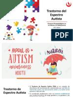 Clase 6. Trastorno del Espectro Autista