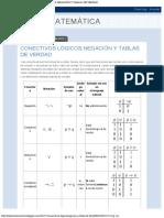LÒGICA MATEMÀTICA CONECTIVOS LÒGICOS,NEGACIÒN Y TABLAS DE VERDAD.pdf