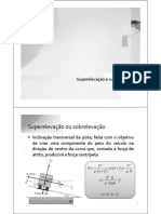 Aula 8   Superlargura e superelevacao