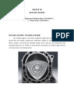 ROTARY ENGINE teknik mesin