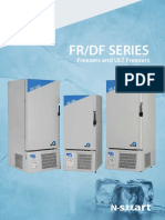 NUVE FR 290-490-590 UltraLow and Deep Freezer Brochure