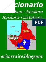 Diccionario Bilingüe Castellano Euskera