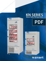 NUVE KN -294 Blood Bank Refrigerator Brochure