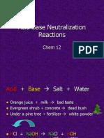 Acid-Base Neutralization 2nd.ppt