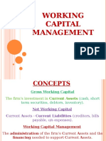 Ch 8 Working Capital Management 2019