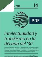 Cuadernos del CEIP Nº 14. Intelectualidad y trotskismo en la década del '30