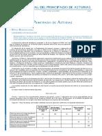 Convocatoria oposiciones Asturias