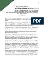 HEIRS OF GREGORIO LOPEZ, REPRESENTED BY ROGELIA LOPEZ, ET AL. vs dbp nov 19 2014
