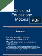 Calcio Ed Educazione Motoria