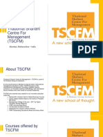 Management Institute for Diploma and Degree Courses, Mumbai – TSCFM