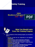 OSHA Bloodborne Pathogens Standard Training