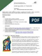 1er taller Castellano   grado 11o. 2o  bimestre  2020..docx
