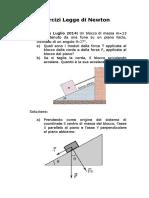 Lezioni di Matematica Newtoniana