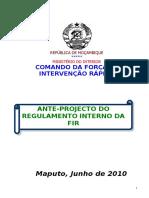 Anti-Projecto da FIR