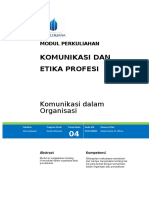 Hanna - Modul 4 -Komunikasi dalam Organisasi