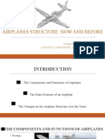 AIRPLANES STRUCTURE - NOW AND BEFORE - Ion-Aurel Pascu.pptx