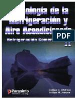 Tecnologia de la Refrigeracion y Aire Acondicionado II