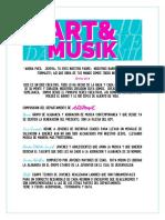 Departamento Arte&Musik colores