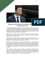 Íntegra Do Depoimento de Sérgio Moro