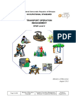 EOS Transport  Operation Management  Level V