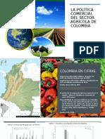 Política comercial agrícola en Colombia