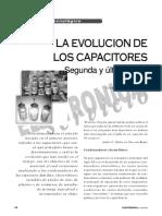 Evolución del capacitor 2