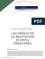 Las jhānas en la meditación budista Theravāda _ Sabiduria