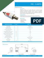 FT_PIRC_CLAMPER . Ficha Técnica Protetor e Isolador de Rede Coaxial FM-FM Espanhol