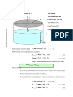 Tank Heat Loss Calculation