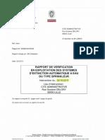 Rapport Vérification BV octobre 2015